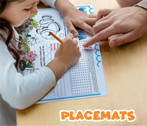 Kids Placemats