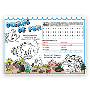 Sea Theme Placemats