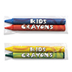 2 Pack Blank Cello Wrapped Crayons