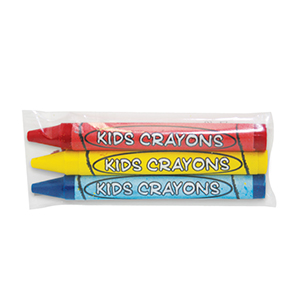 3 Pack 8mm X70mm Cello Crayon