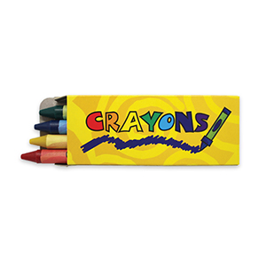 4 PACK CRAYONS 360 CASE