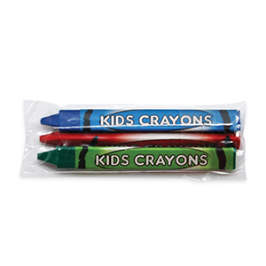 3 Pack Triangle Crayons
