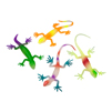 "4""Glow Lizards- Assorted"
