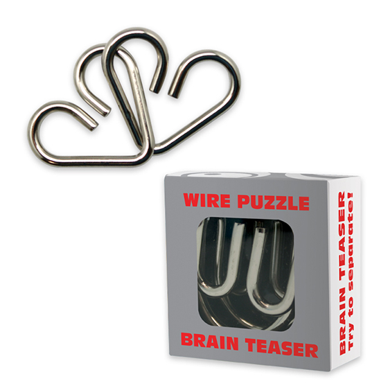 Wire Puzzle in Box